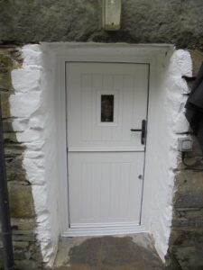 The photographs below are of the newly introduced StormMeister Stable Flood Door